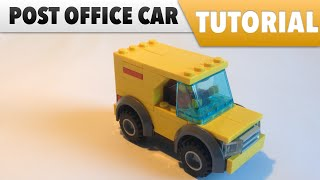 Tutorial ✔️ How to make a LEGO Post Office car