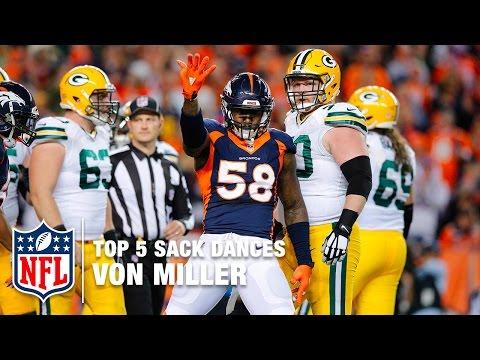 Top 5 Von Miller Sack Dances | NFL Now