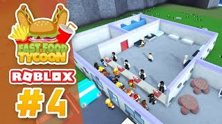 KITCHEN UPGRADES - Roblox Fast Food Tycoon #4