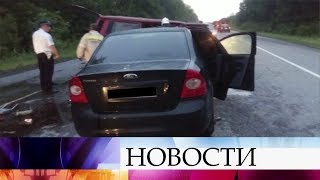 Восемь человек погибли в крупном дорожно-транспортном происшествии под Воронежем.