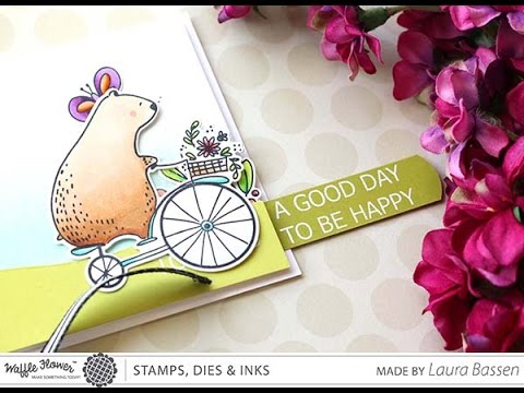 [WIW] - Make a Happy Day Slider Card with Laura Bassen