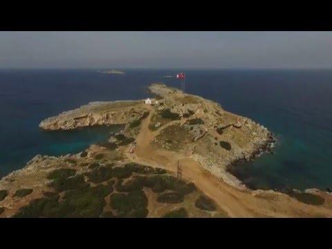 DJI Phantom 3 Advanced Flight Karpaz Peninsula North Cyprus Aerial Filming