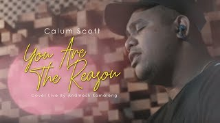 Download Lagu Calum Scott - You Are The Reason (Cover Live By Andmesh Kamaleng)