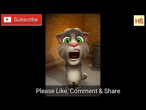 Tum paas aye | kuchh kuchh hota hai | funny song talking Tom Hindi version...