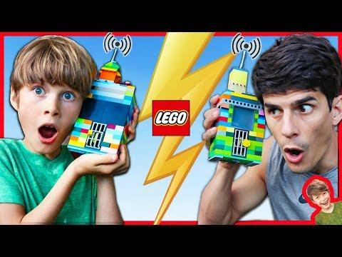 Lego SPY GADGETS that REALLY WORK!