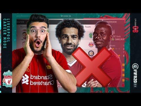 SALAH AND MANE REPLACED AT LIVERPOOL?! - FIFA 20 LIVERPOOL CAREER MODE #8