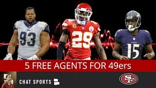 49ers Rumors: 5 Free Agents San Francisco Could Still Sign For 2019