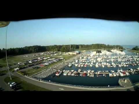 Geneva Marina Labor Day Morning - look at all the boats!