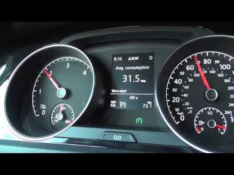 2015 VW Golf TDI MPG Highway Road Test