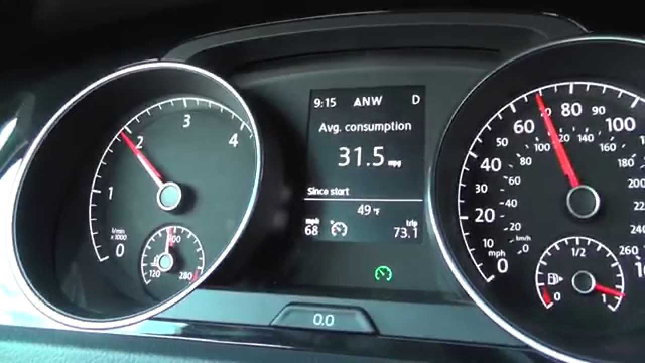 Volkswagen Tdi Mpg 2015 Vw Golf Tdi Mpg Highway Road Test Youtube