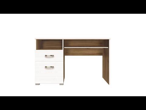 Стол BIU1D1S цвета лиственница сибирская / орех лион