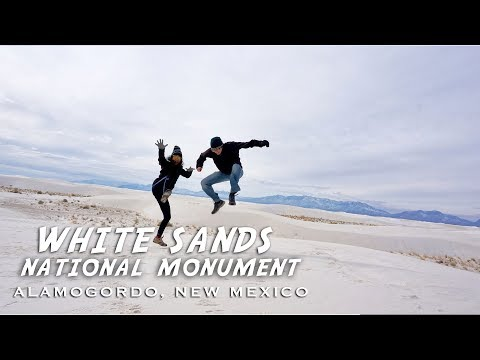 So White! World's Largest Gypsum Dune Field - White Sands National Monument