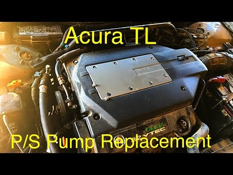 Acura TL Steering Pump Replacement (Fast and Easy)