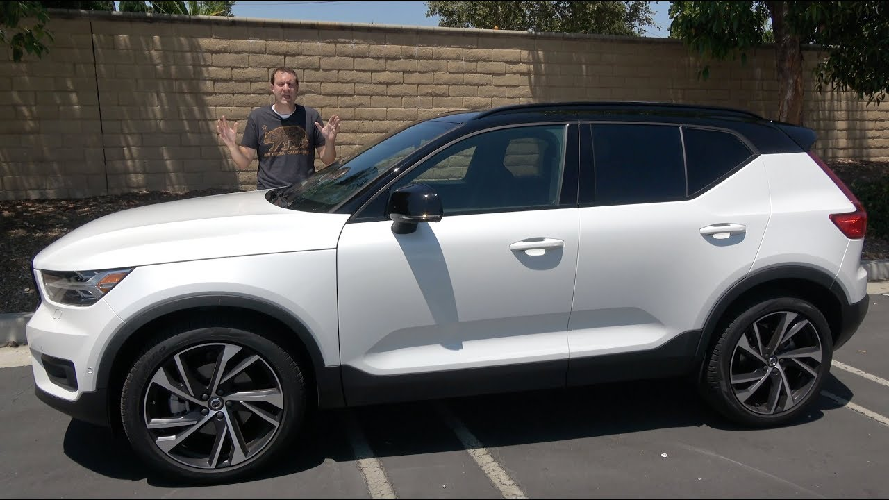The 2019 Volvo XC40 Is the Coolest Volvo in Decades - YouTube