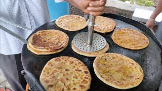 Paratha Made in Pure Ghee   Most Healthy Aloo Paratha   Indian Street Food