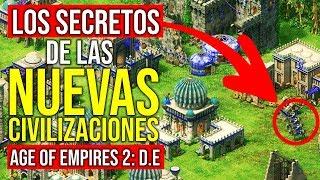 Los secretos de las NUEVAS civilizaciones | Age of Empires II: Definitive Edition
