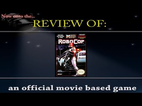 Movies to Video Games Review - Robocop (NES)