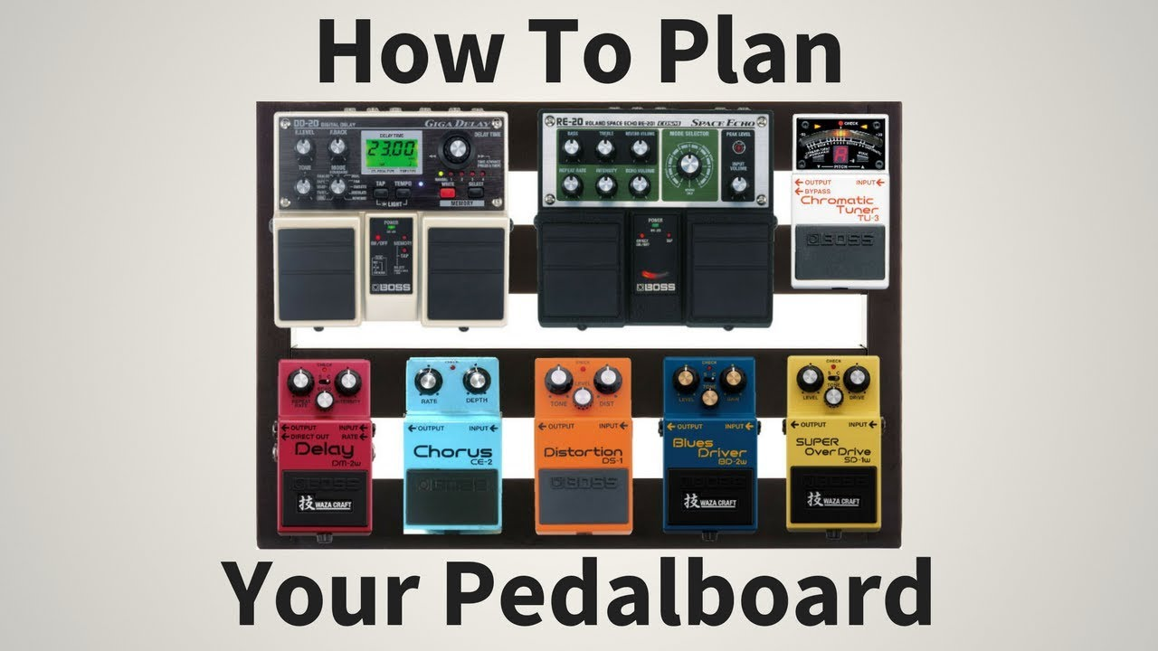 how to plan your pedalboard easily quickly pedalboard tips 35. Black Bedroom Furniture Sets. Home Design Ideas