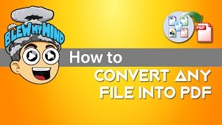 Convert any file into PDF! .DOC / .XLS / .HTML / ANYTHING convert to PDF!