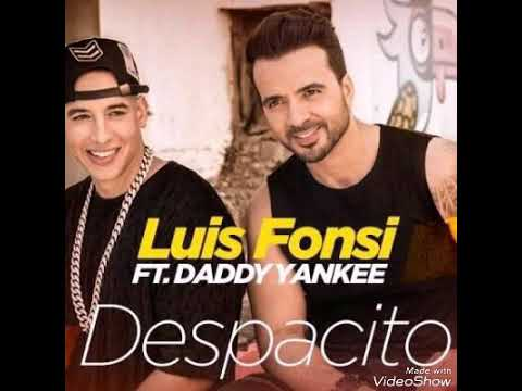 Despacito song artist Luis Fonsi feat Daddy k yanka 2017