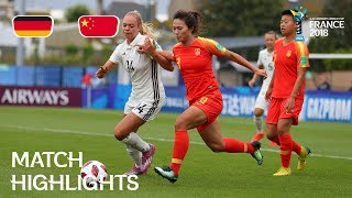 Germany v. China - FIFA U-20 Women's World Cup France 2018 - Match 16