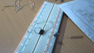 Elektronik-555 Entegresi ile Yanıp Sönen Led Devresi