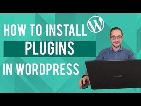 How to install Wordpress Plugins Tutorial thumbnail
