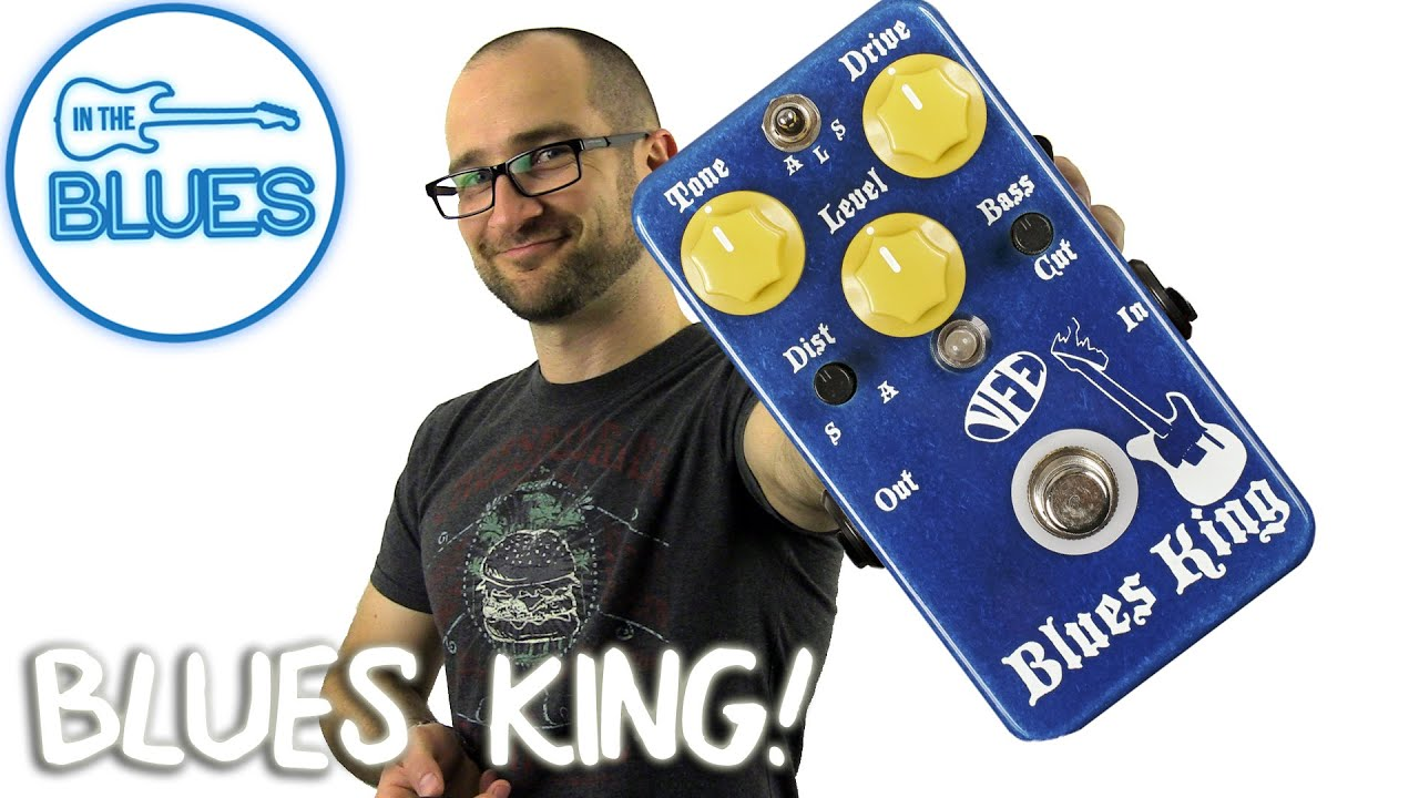 vfe blues king overdrive pedal demo youtube. Black Bedroom Furniture Sets. Home Design Ideas