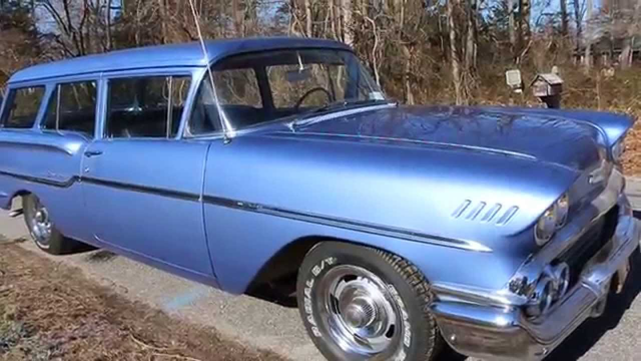 All Chevy 1958 chevy delray for sale : 1958 Chevrolet Yeoman 2 Door Wagon For Sale~307~Automatic~Power ...