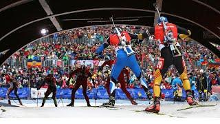 Биатлон 2021 Спринт женщины мужчины Итоги и обзор гонки Оберхоф 5 этап Кубок мира 2021
