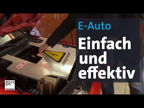 Erfindung aus Bayern: So einfach wird ein Verbrennungsmotor zum E-Antrieb