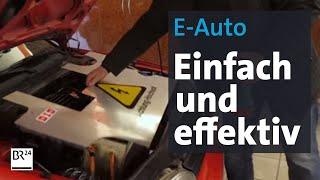 Erfindung aus Bayern: So einfach wird ein Verbrennungsmotor zum E-Antrieb | BR24