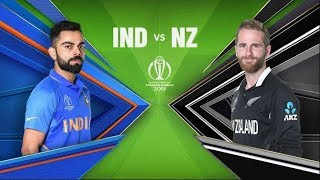 India vs New Zealand Highlights World Cup 2019 #INDvNZ - LIVE Ashes Cricket