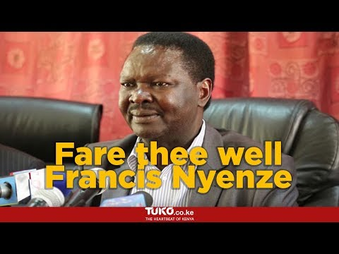 Kitui West MP Francis Nyenze passes on in Nairobi Hospital