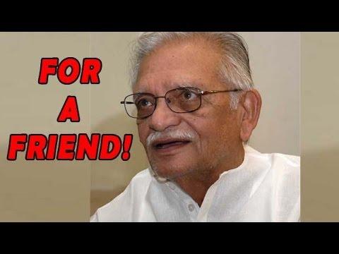 Gulzar Avoids Questions on Winning Dada Saheb Phalke Award - appreciates the art of a Friend