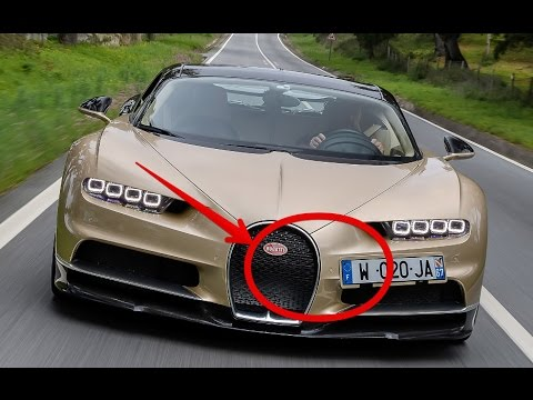 Bugatti chiron top speed