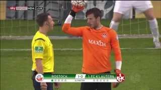 Hansa Rostock gegen Kaiserslautern - Elfmeterschießen - 1. Runde DFB Pokal 15/16