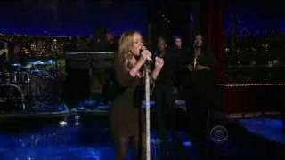 Mariah Carey H.A.T.E. U LIVE on david letterman show!!