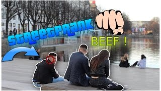 FAST SCHLÄGE von KANACKEN kassiert !! | STREET PRANK | DENIZON