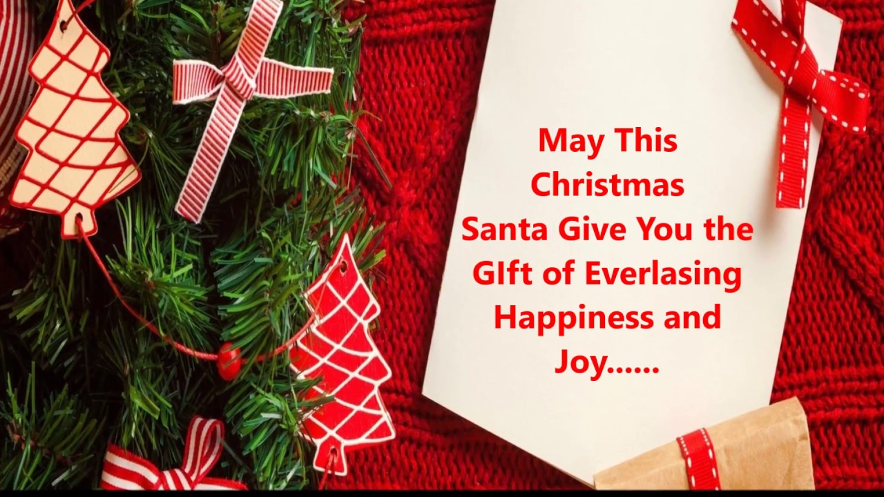 Merry christmas happy new year 2017 greetings best wishes merry christmas happy new year 2017 greetings best wishes whatsapp video message e card youtube kristyandbryce Image collections