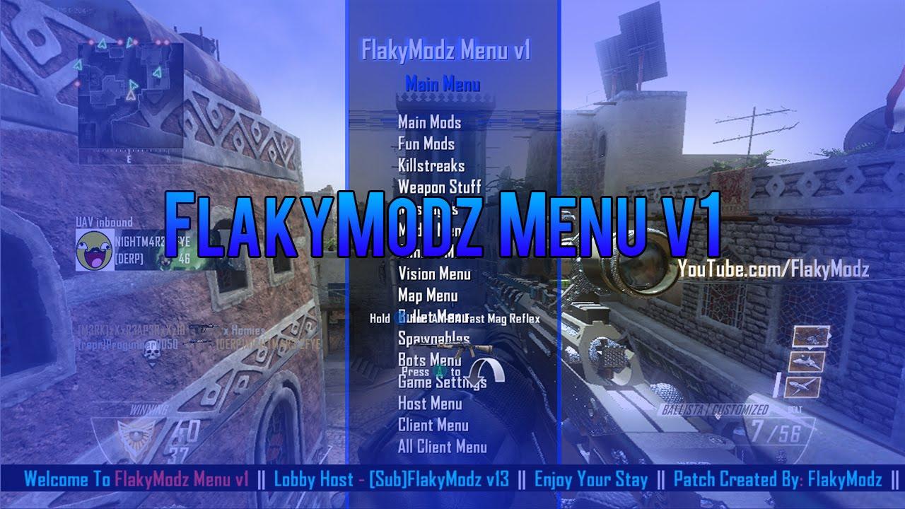 All - [Release] BO2 | TU18 | FlakyModz Menu v1 | +Download