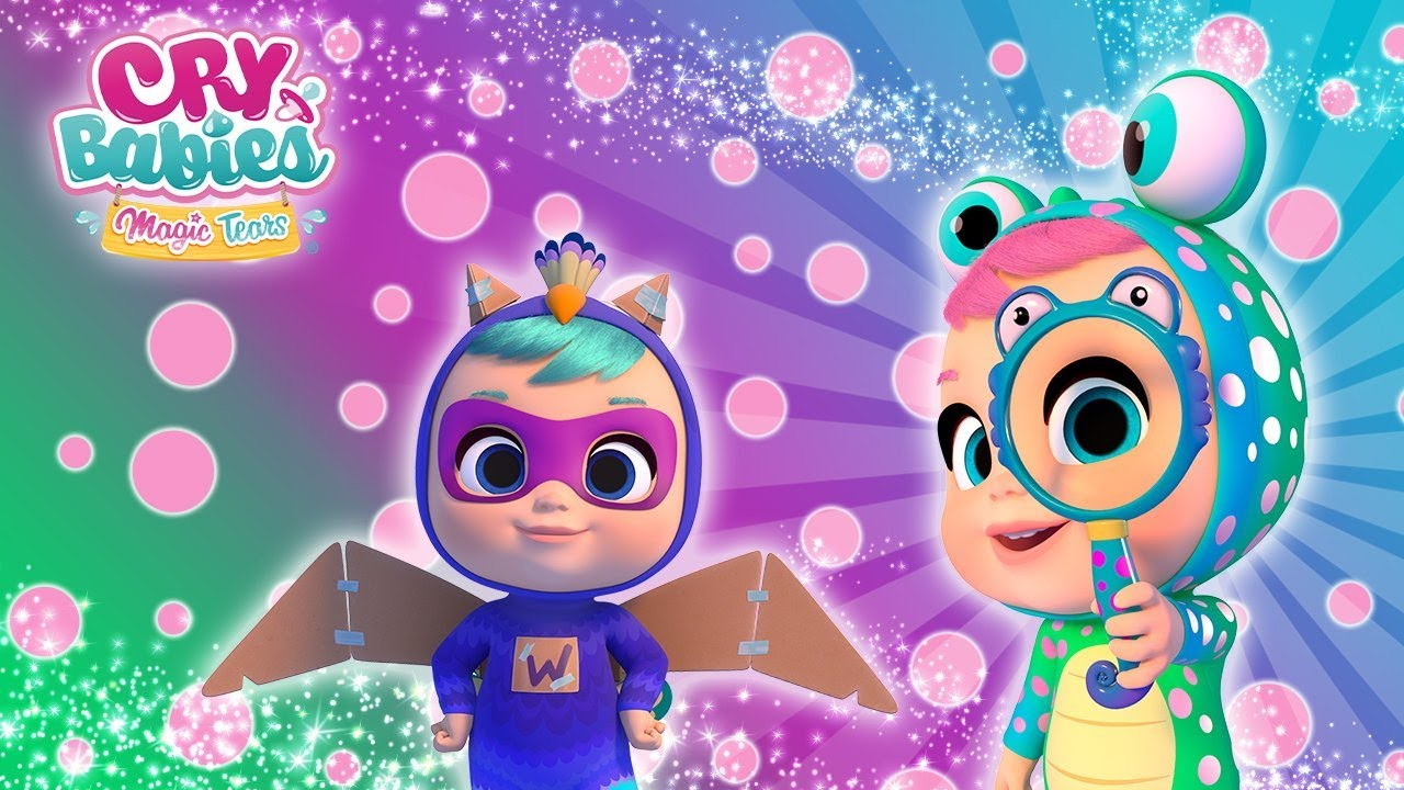 CRY BABIES 💧 NOW LIVE 🔴 MAGIC TEARS 💕 FULL Episodes 😍 CARTOONS in ENGLISH