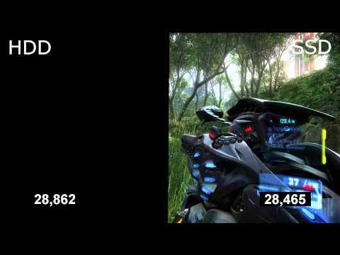 SSD vs HDD - тест загрузки игр