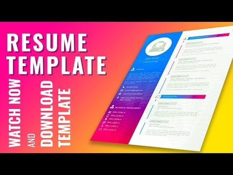 👉Professional Business Curriculum Vitae CV Resume Cover Letter Template Design In Microsoft Word