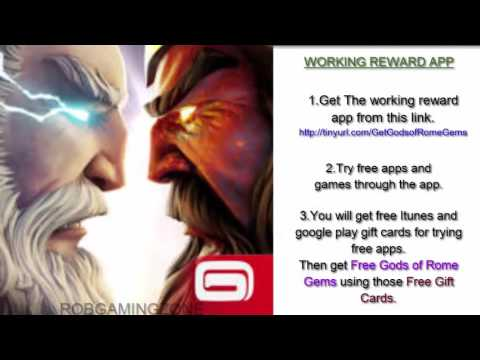 Gods of Rome - Tips - Tricks - Strategies - Get Gems Easy - IOS Android !
