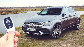 Oto NOWY Mercedes GLC Coupe 2020