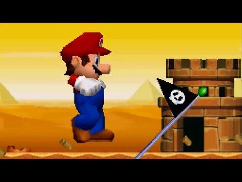 New Super Mario Bros. DS - 100% Walkthrough: World 2