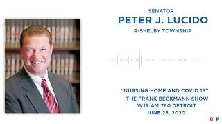 Sen. Lucido talks protecting nursing homes on the Frank Beckmann Show