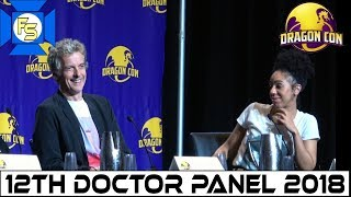 DOCTOR WHO (Peter Capaldi & Pearl Mackie) Panel - Dragon Con 2018