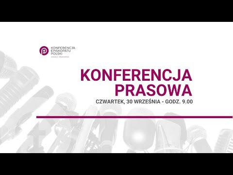 Konferencja prasowa - 30.09.2021 godz. 9.00